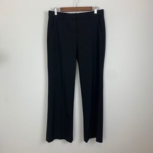 Theory black classic bootcut trouser pants size 6